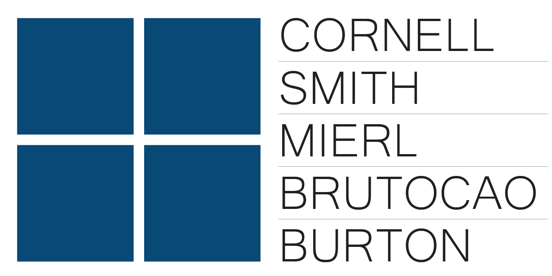 Cornell Smith Mierl Brutocao Burton, LLP: Home – Austin logo