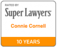 connie cornell super lawyers